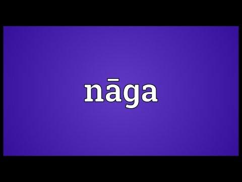 Nāga Meaning