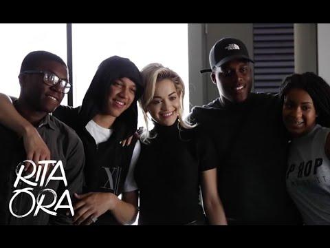 RITA ORA   Visit to ELAM 2015! [Video Diaries 011]