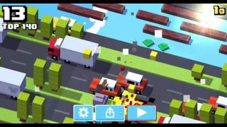 CROSSY ROAD PC - GAMEPLAY WITH JOHN BOOM [NO COMMENTARY]