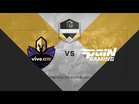Superliga ABCDE League of Legends - Semana 3 - Keyd vs. Pain - MD2