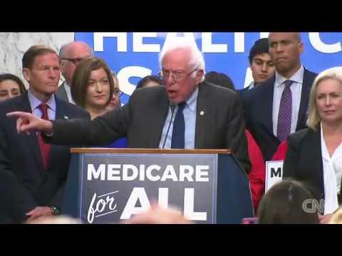 Bernie Sanders announces 'Medicare for all' plan