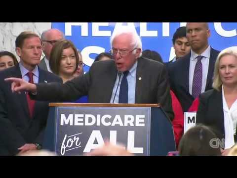 Bernie Sanders announces 'Medicare for all' plan