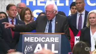 Bernie Sanders advocates .Medicare for all., From YouTubeVideos