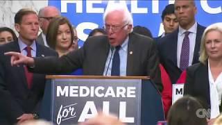 Bernie Sanders announces 'Medicare for all'