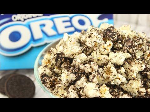 OREO POPCORN I schnell, lecker & einfach I How to make Oreo Popcorn