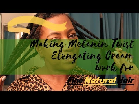 Making MELANIN TWIST ELONGATING CREAM Work FOR FINE NATURAL HAIR!! + New Herbal Hair Products!