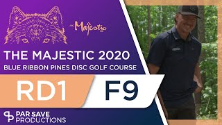 The Majestic 2020 - Round 1 Front 9 - Conrad, Leiviska, Ulibarri, Jones