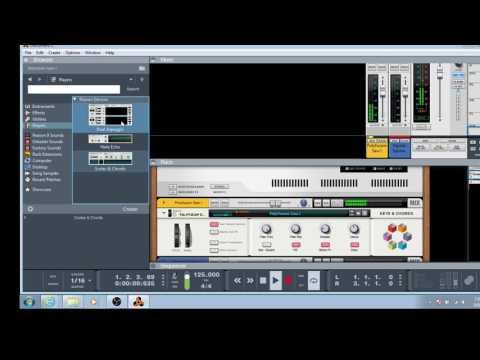 Creating an Anthem Chord Progression in Reason 9 Dance EDM Quick Tutorial