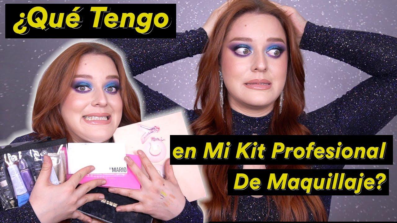 ME VOLVÍ LOCA 🙃 Mi Kit Profesional de Maquillaje: Sombras, Delineadores y Cejas - Pamela Segura