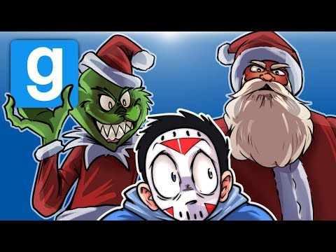 Gmod Ep. 68 DEATHRUN! - XMAS EDITION! (Garry's Mod Funny Moments)