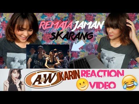 REACTION LAGU YOUNG LEX FT AWKARIN - BAD ? | Dinda Shafay (Bahasa)