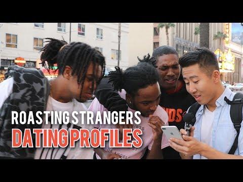 ROASTING STRANGERS DATING PROFILES