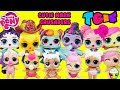 TGIF SHOW MLP Mane 6 Get Cutie Mark Crusaders Little Sisters DIY Makeover