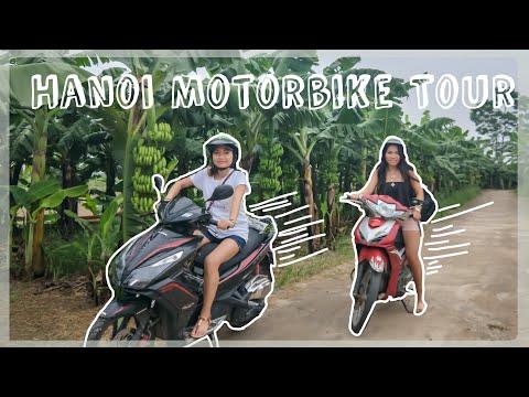Vietnam Travel Vlog | Motorbike Tour Around Hanoi |
