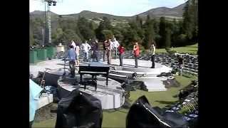 Celtic Woman Powerscourt Sound Check July 30, 2009
