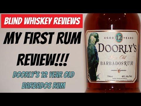 Doorly's 12 Year Old Barbados Rum- Blind Review!!!