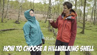 How to Choose a Hillwalking Shell