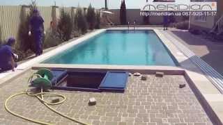 накрытие для бассейна , павильон для бассейна ТМ Meridian(, 2015-03-10T12:40:19.000Z)