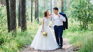 Красивое свадебное видео. Тимур и Наталия - лучший свадебный клип.