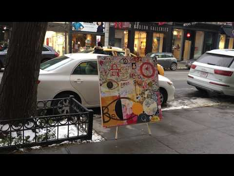 Street Art For Sale in NYC - Soho 2017