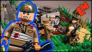 Засада. Боевая операция из Лего (обзор самоделки)