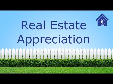 Real Estate Appreciation : How much should you expect your h