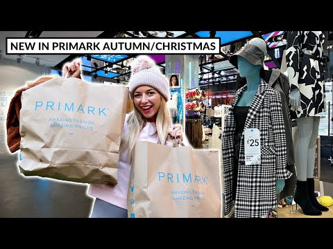 NEW IN PRIMARK OCTOBER/NOVEMBER 2020 / *New Autumn/Christmas Collection
