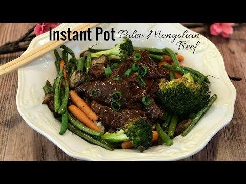 Instant Pot: Paleo Mongolian Beef