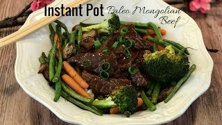 Elizabeth from OurPaleoFamily.com makes Paleo Mongolian Beef in the Instant Pot with roasted vegetables. Find the recipe here: ...