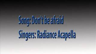 Radiance Acapella - Don
