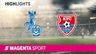 Gambar cover MSV Duisburg - KFC Uerdingen   Spieltag 14, 19/20   MAGENTA SPORT