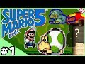 Our Bad Fan Games!  Super Mario Bros. 5: Episode 1 - Crinkled Pages
