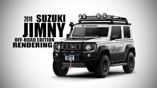 2018 Suzuki Jimny Off Road Edition -  Rendering - Making Video | SRK Designs