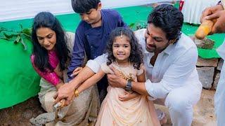 Allu arjun Boomi Pooja with Family | New house named blessing | Allu arjun | Sneha reddy