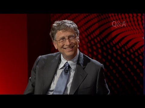 A Q&A Audience With Bill Gates