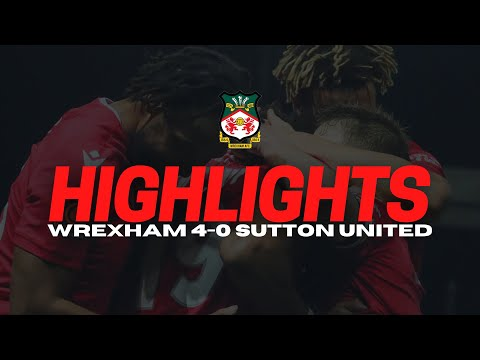Wrexham Sutton Goals And Highlights