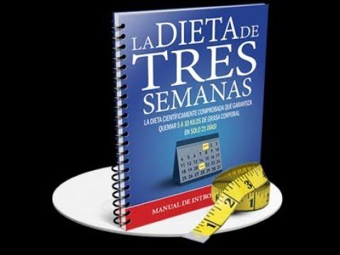 la dieta de 3 semanas pdf