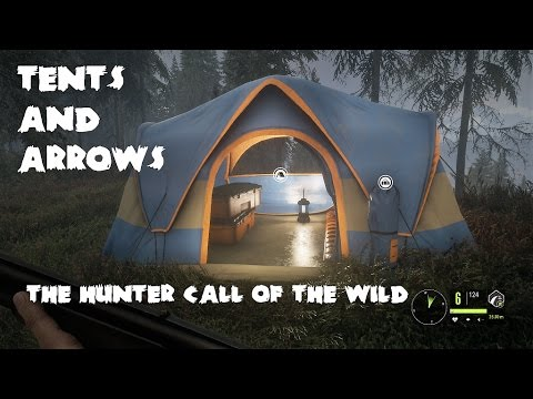 theHunter - Call of the Wild - Tents & Arrows