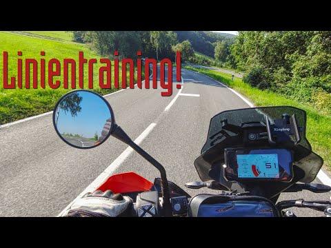 Motorrad Fahrtechnik - geniales Linientraining