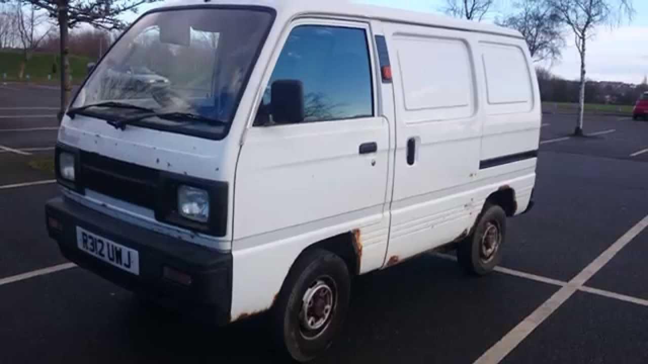 My Old Van R Reg suzuki super carry For sale - YouTube