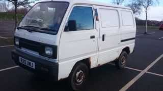My Old Van R Reg suzuki super carry For sale