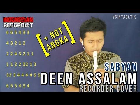 Sabyan - Deen Assalam + NOT ANGKA RECORDER @iyanmithriz _