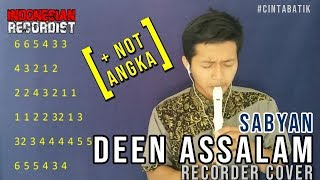 [5.84 MB] Sabyan - Deen Assalam + NOT ANGKA RECORDER @iyanmithriz