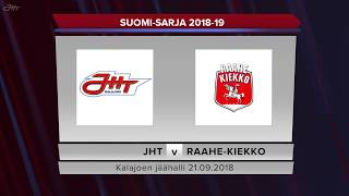 JHT - Raahe-Kiekko 21.09.2018 maalikooste