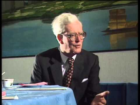 Former British Foreign Secretary Douglas Hurd ON hong kong china
