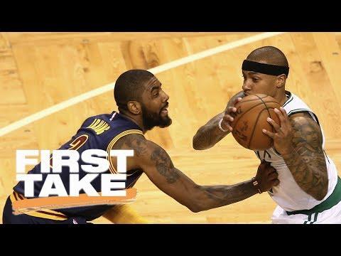First Take debates who won the Kyrie Irving-Isaiah Thomas trade | First Take | ESPN