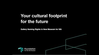 Foundation + Partners + Museum = Cultural Impact