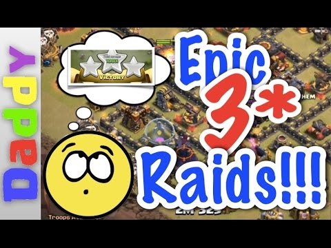 Clash Of Clans  | EPIC 3 Star Raids!!! | Clash of Clans Forum Elite Event