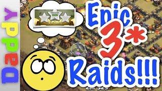 Clash Of Clans | EPIC 3 Star Raids!!! | Clash of Clans Forum Elite Event