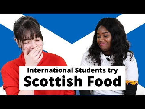 International Students Try Scottish Food | University of Stirling